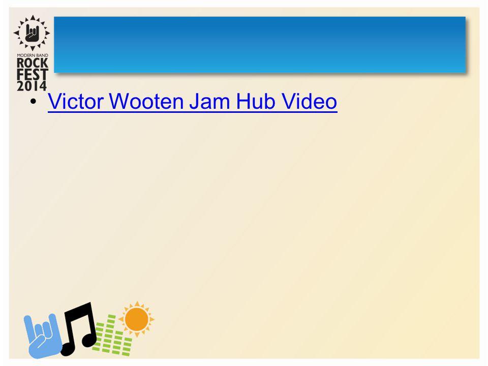Victor Wooten Jam Hub Video