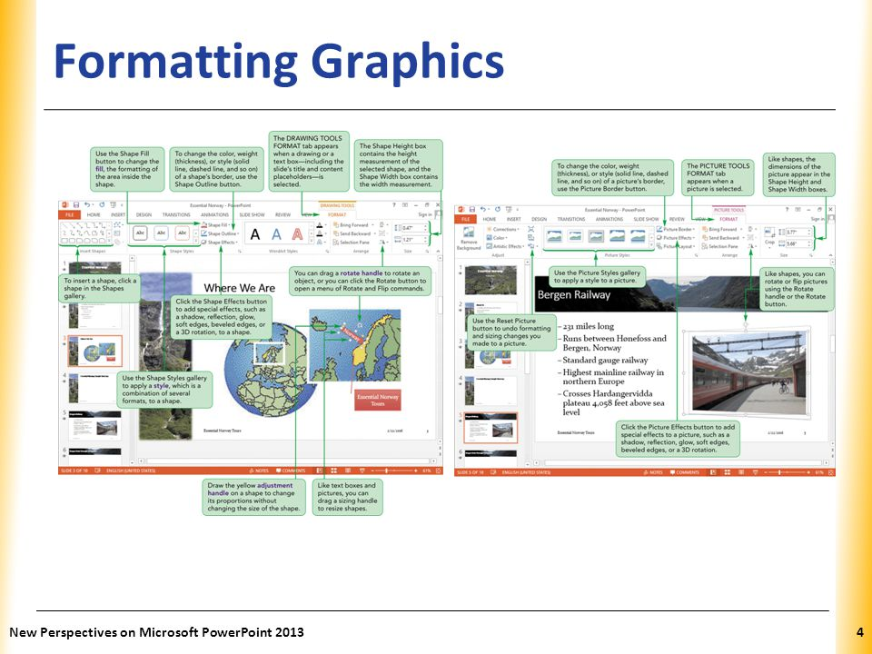 XP Formatting Graphics New Perspectives on Microsoft PowerPoint 20134