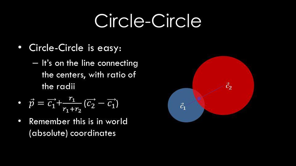 Circle-Circle