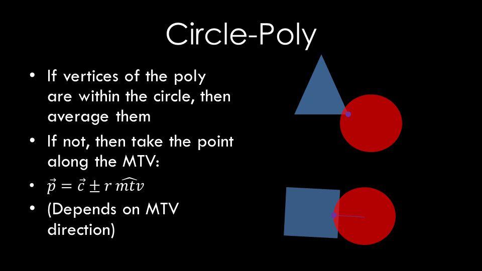 Circle-Poly