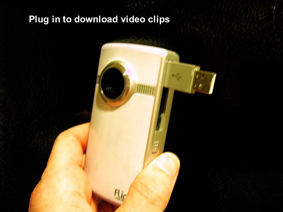 Plug in to download video clips