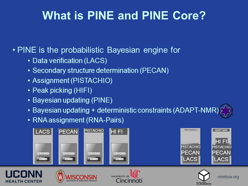 nmrbox.org What is PINE and PINE Core.