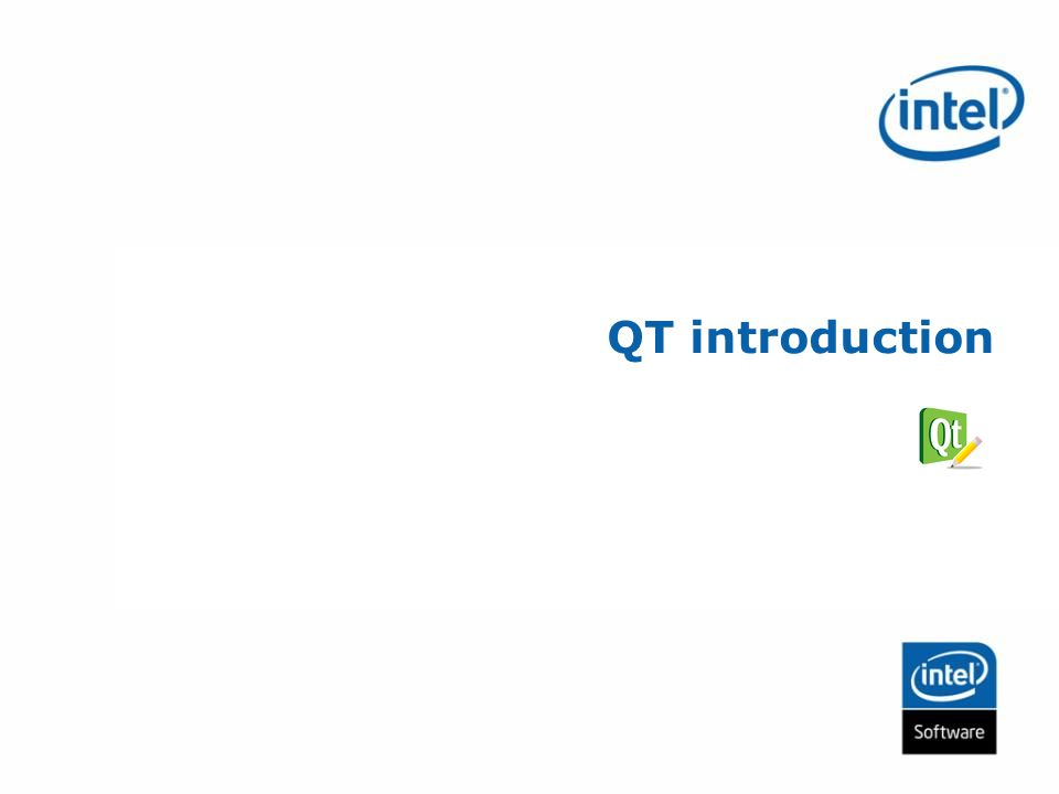 QT introduction