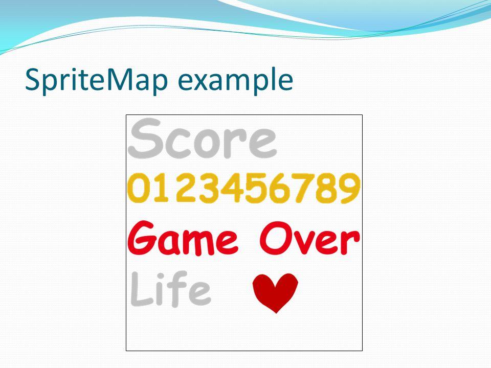SpriteMap example