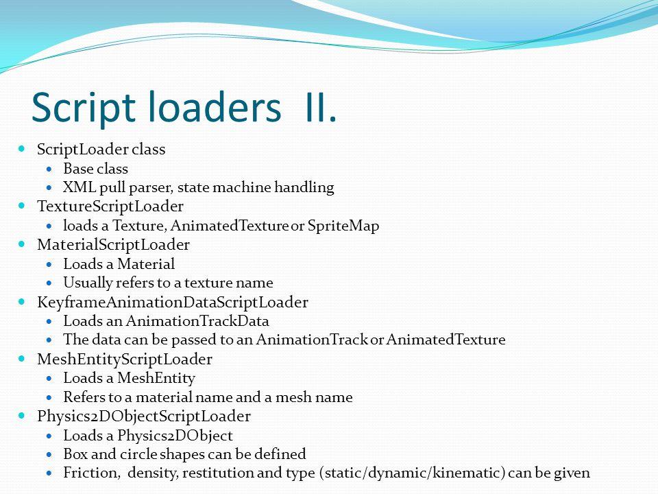 Script loaders II.