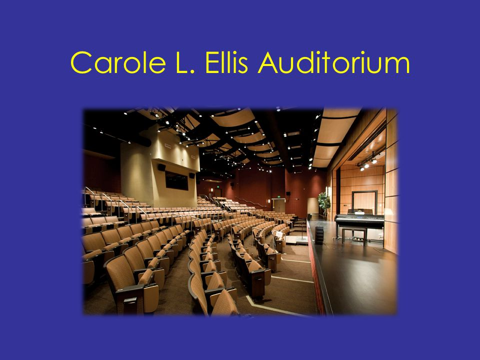Carole L. Ellis Auditorium