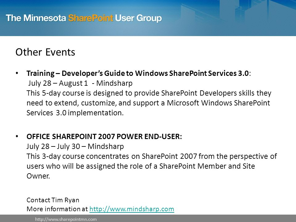 SharePoint Resources & Utilities