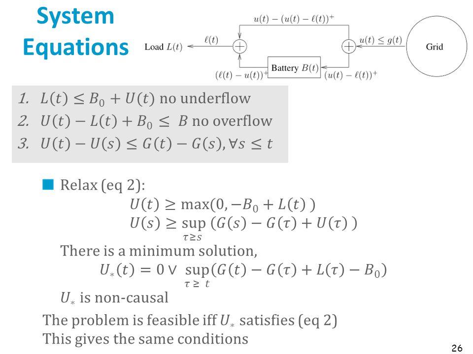 System Equations 26