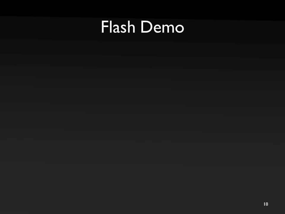 Flash Demo 18