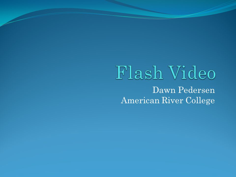 Dawn Pedersen American River College