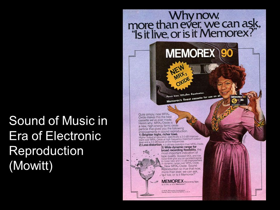 Sound of Music in Era of Electronic Reproduction (Mowitt)