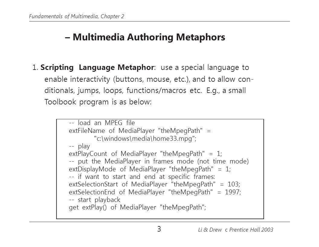 Fundamentals of Multimedia, Chapter 2 xTxT x max 0 x y Video L Viewport Video R x max 0 yxTxyxTx x x max −  x T Fig.