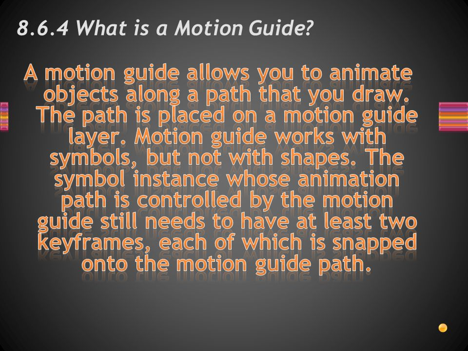 8.6.4 What is a Motion Guide?