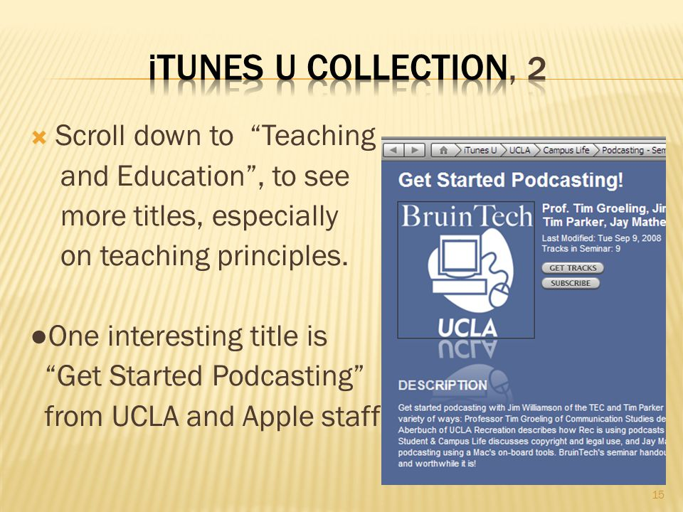  Scroll down to Teaching and Education , to see more titles, especially on teaching principles.