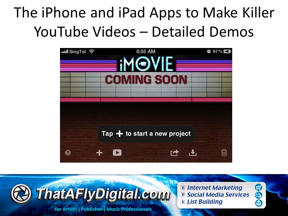 The iPhone and iPad Apps to Make Killer YouTube Videos – Detailed Demos