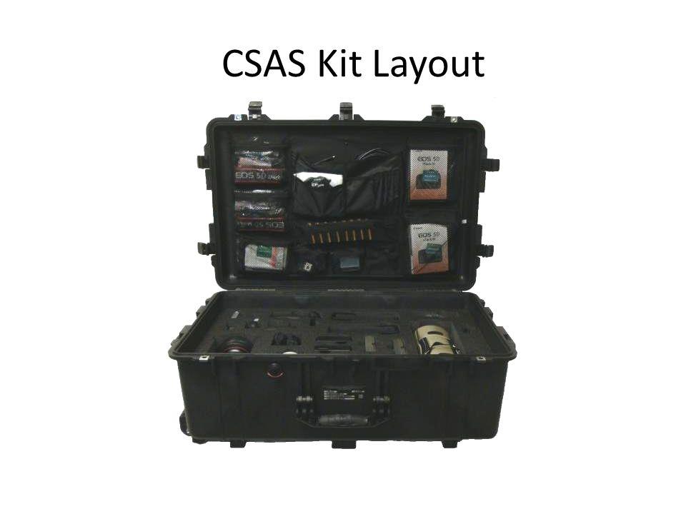 CSAS Kit Layout