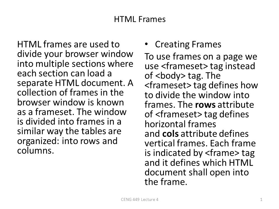 HTML5 - Audio & Video HTML5 features, include native audio and video support without the need for Flash.