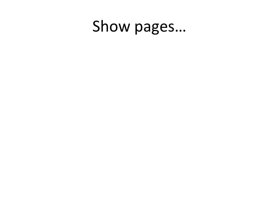 Show pages…