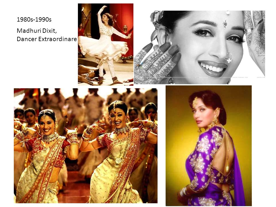 Madhuri Dixit, Dancer Extraordinare 1980s-1990s