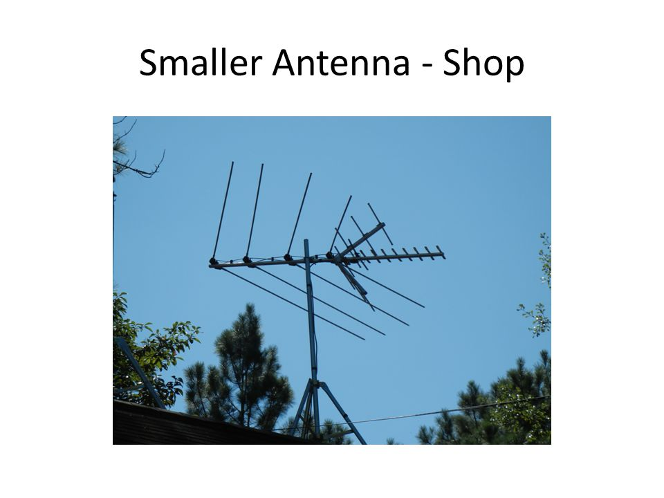 Smaller Antenna - Shop