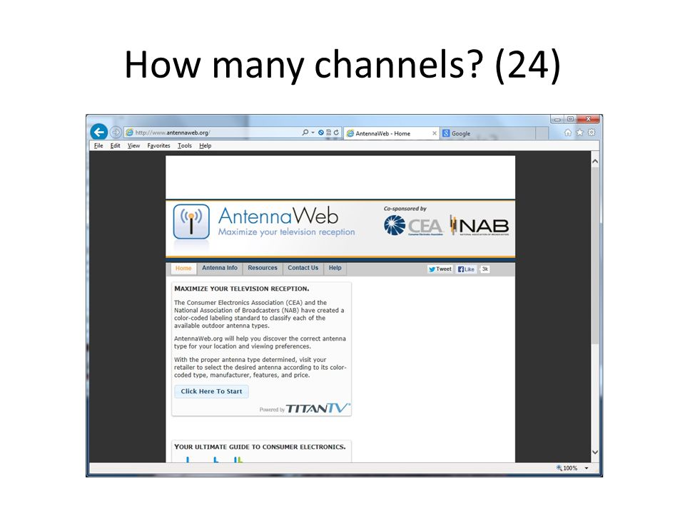 How many channels (24)