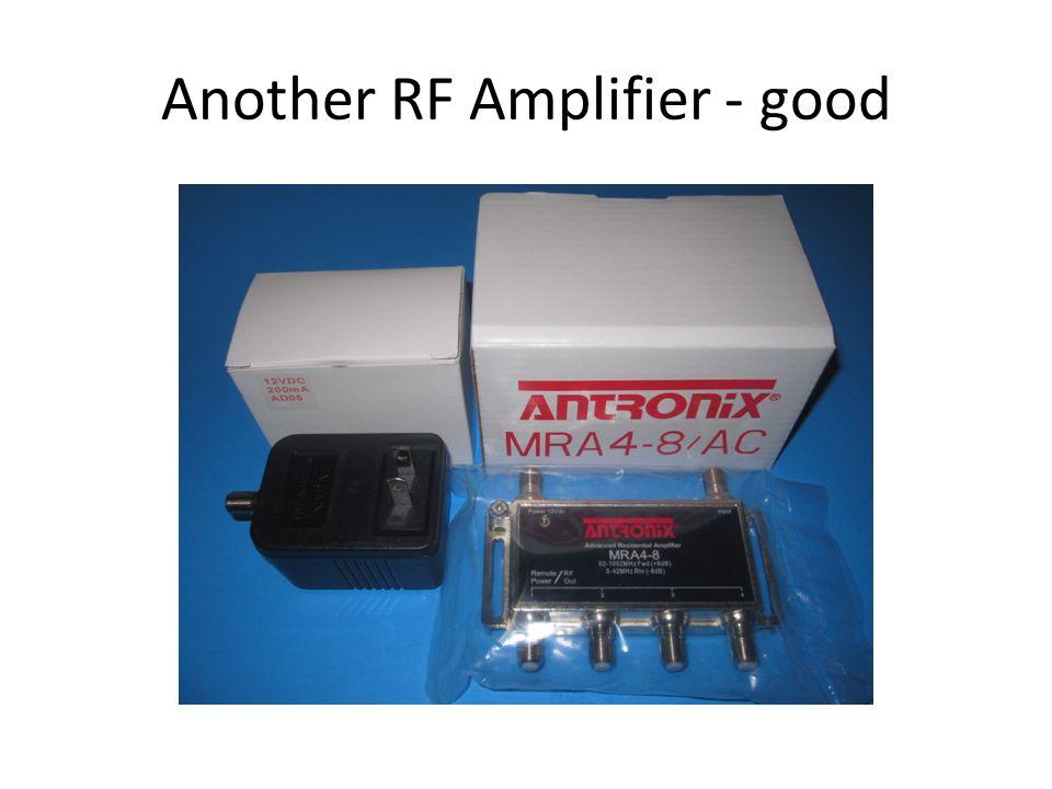 Not-so-good RF Amplifier