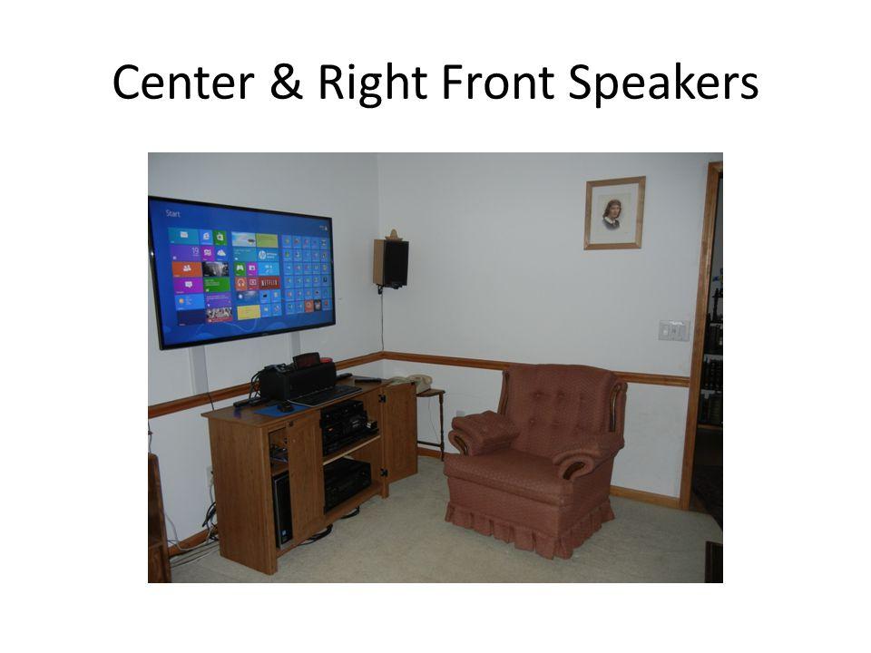 Right Rear Speakers