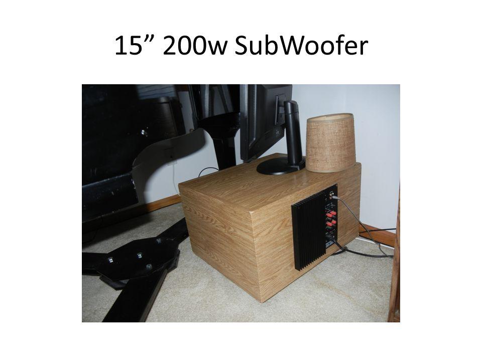 15 200w SubWoofer