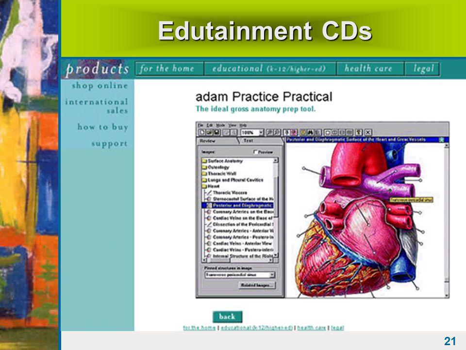 21 Edutainment CDs