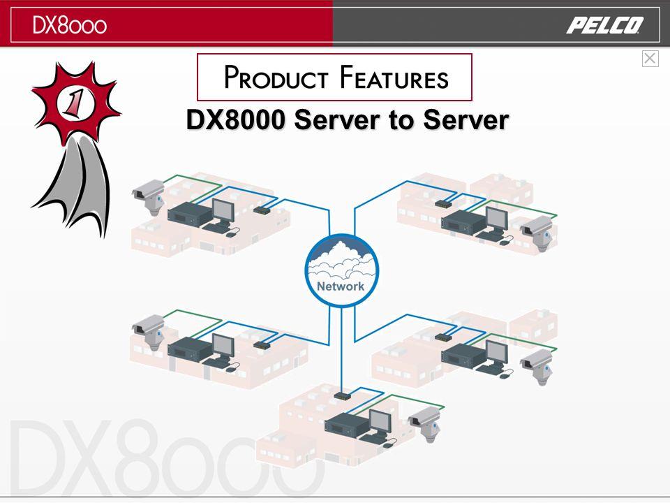 DX8000 Server to Server