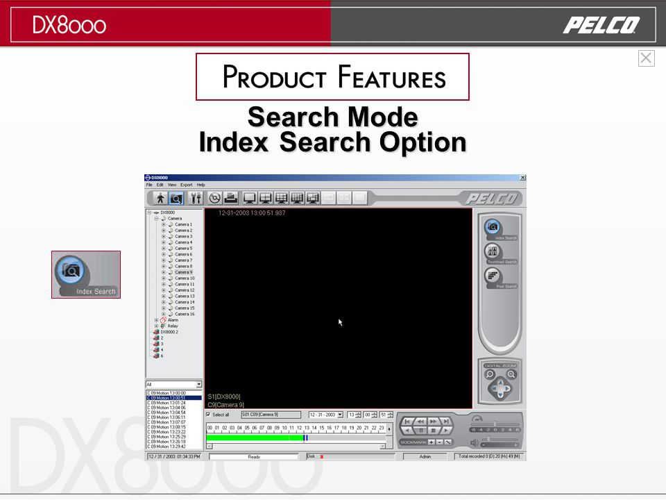 Search Mode Index Search Option