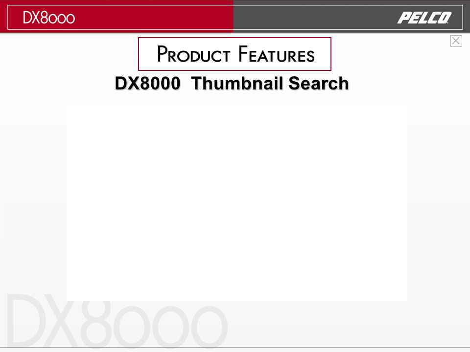 DX8000 Thumbnail Search