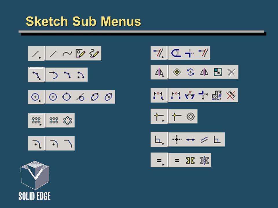 Sketch Sub Menus