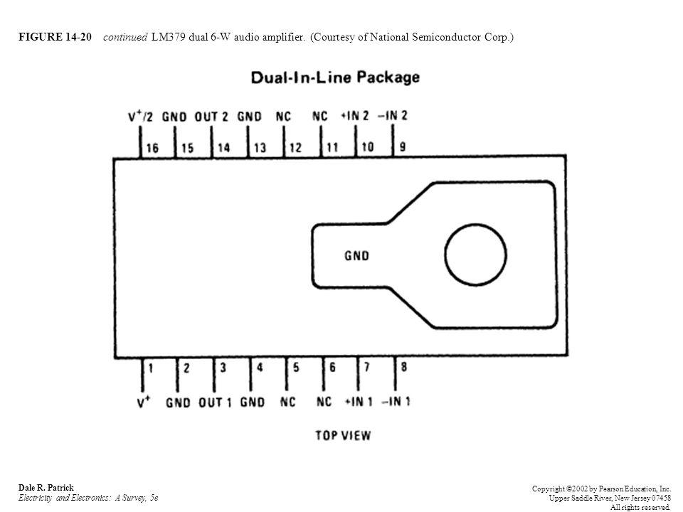 FIGURE 14-20 continued LM379 dual 6-W audio amplifier.
