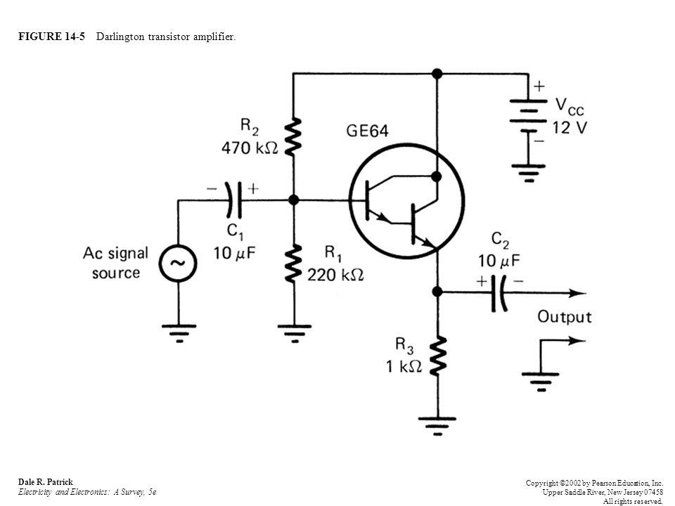 FIGURE 14-5 Darlington transistor amplifier. Dale R.
