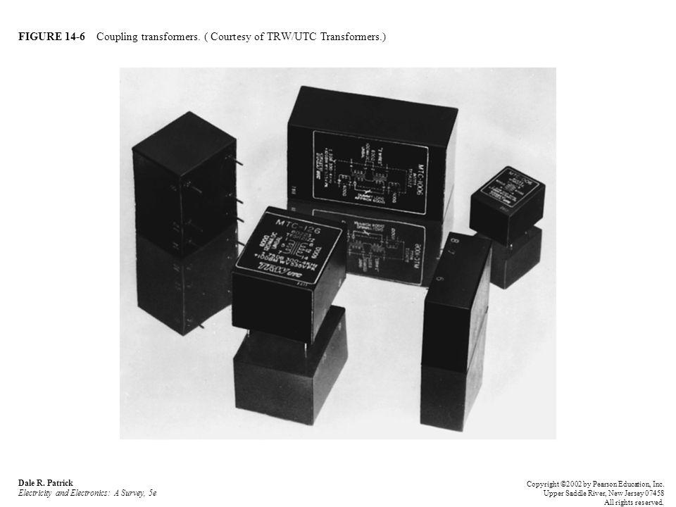 FIGURE 14-6 Coupling transformers. ( Courtesy of TRW/UTC Transformers.) Dale R.