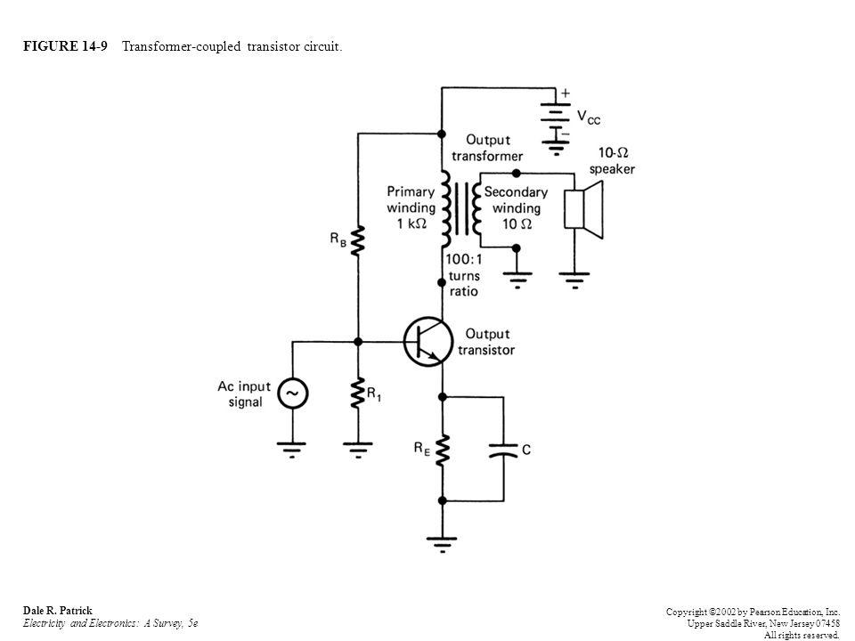 FIGURE 14-10 Single-ended audio amplifier.Dale R.