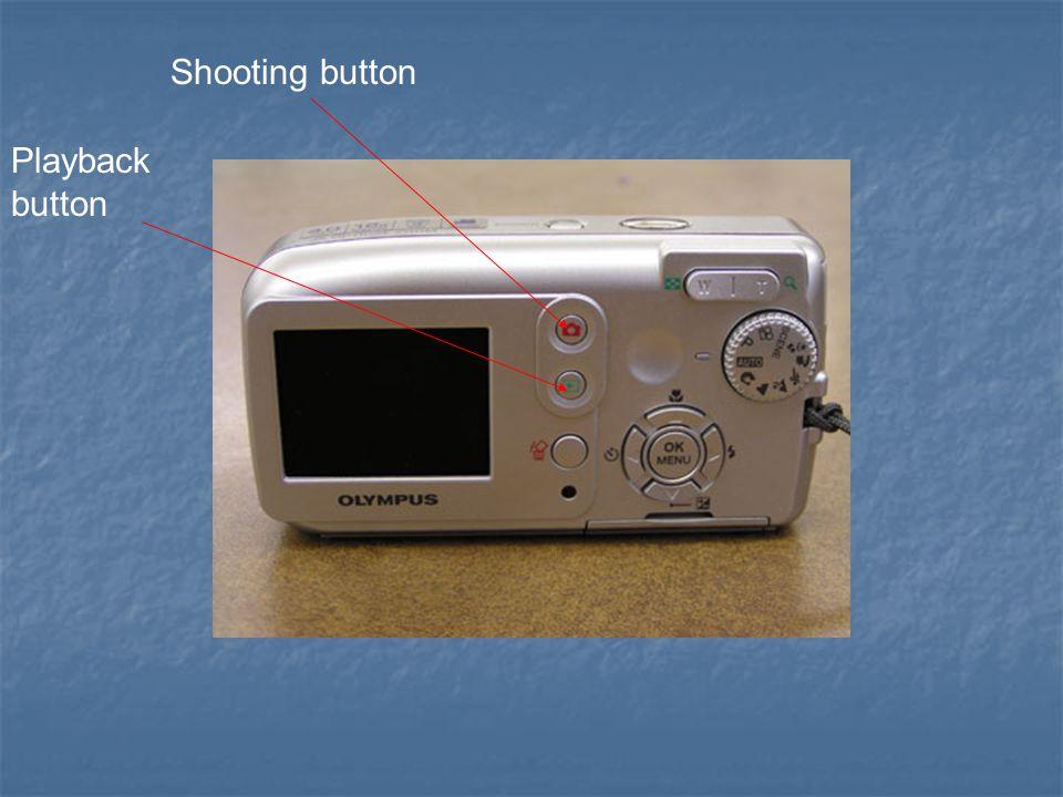 Shooting button Playback button