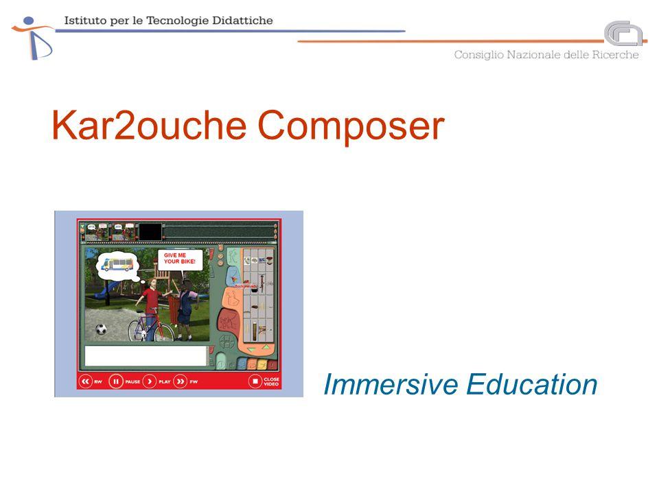 Kar2ouche Composer Immersive Education