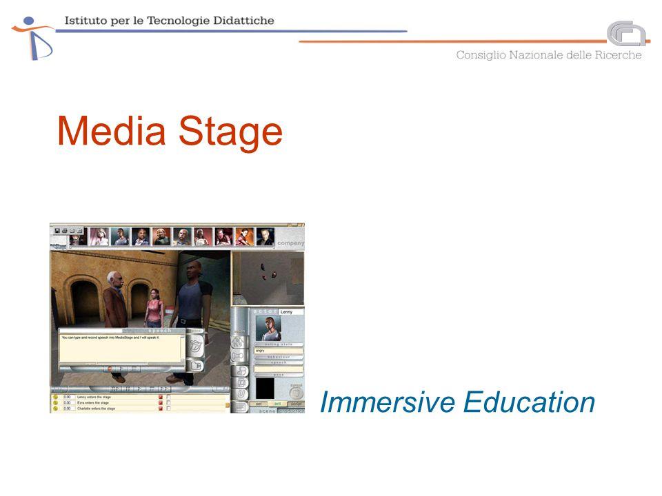 Media Stage Immersive Education