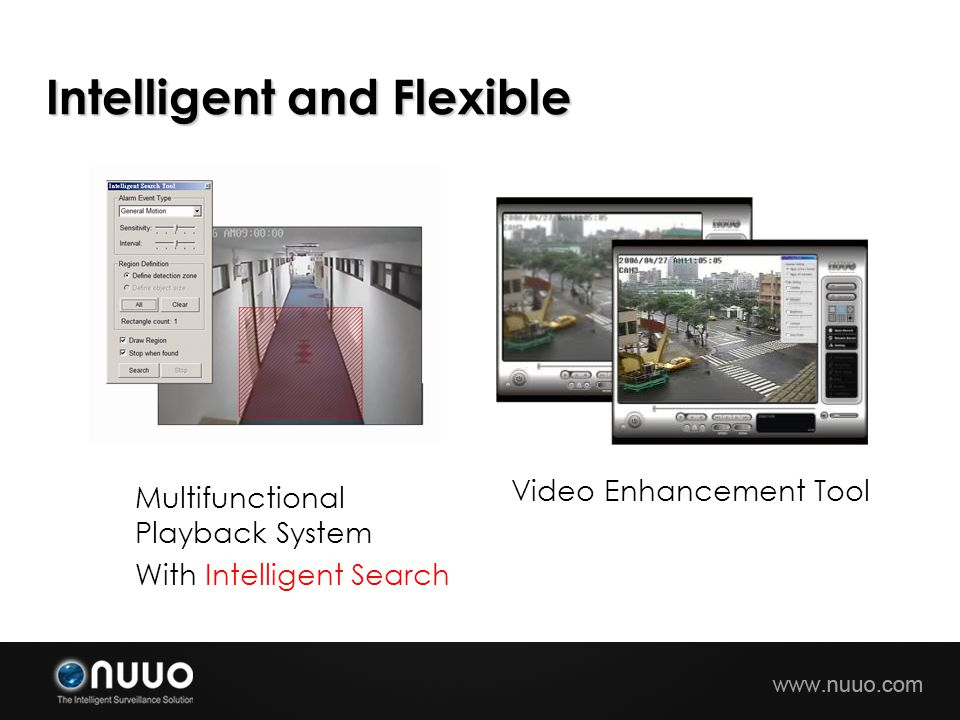 Multifunctional Playback System With Intelligent Search Video Enhancement Tool Intelligent and Flexible