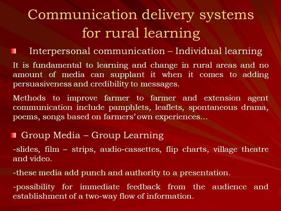 Case 1: Video for Training at the Grassroots Level in Peru -1975-1986: FAO supported a farmer-training project in Peru as an integral part of its agrarian reform programme.