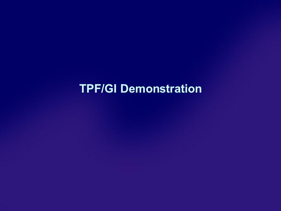 TPF/GI Demonstration
