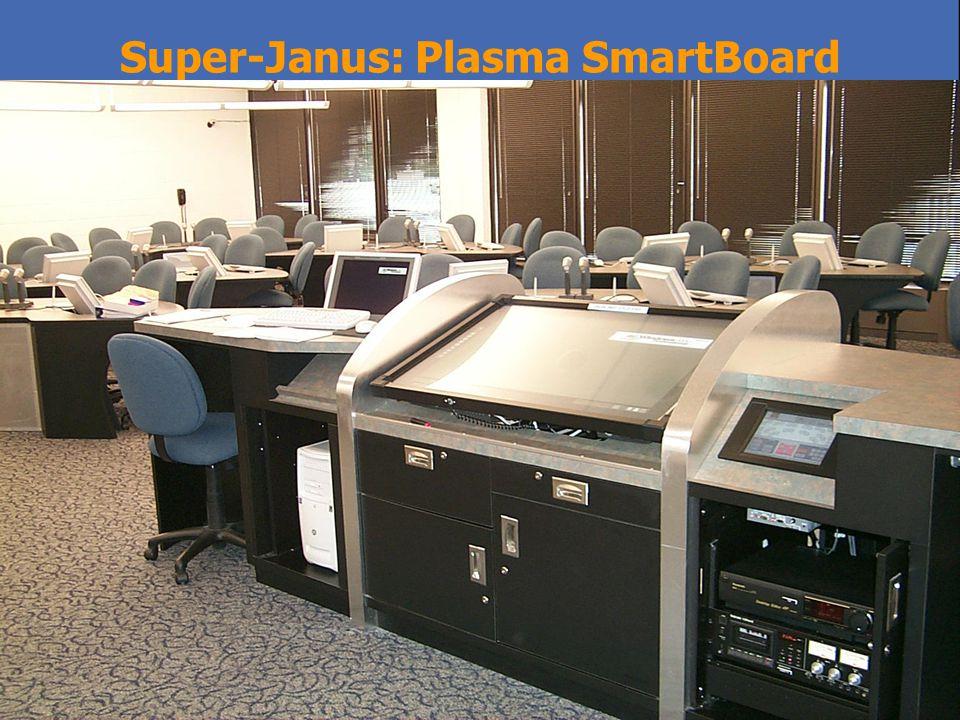Super-Janus: Plasma SmartBoard