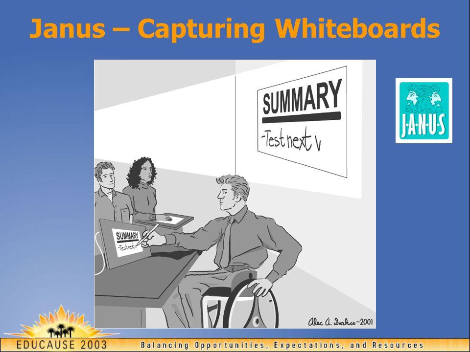 Janus – Capturing Whiteboards