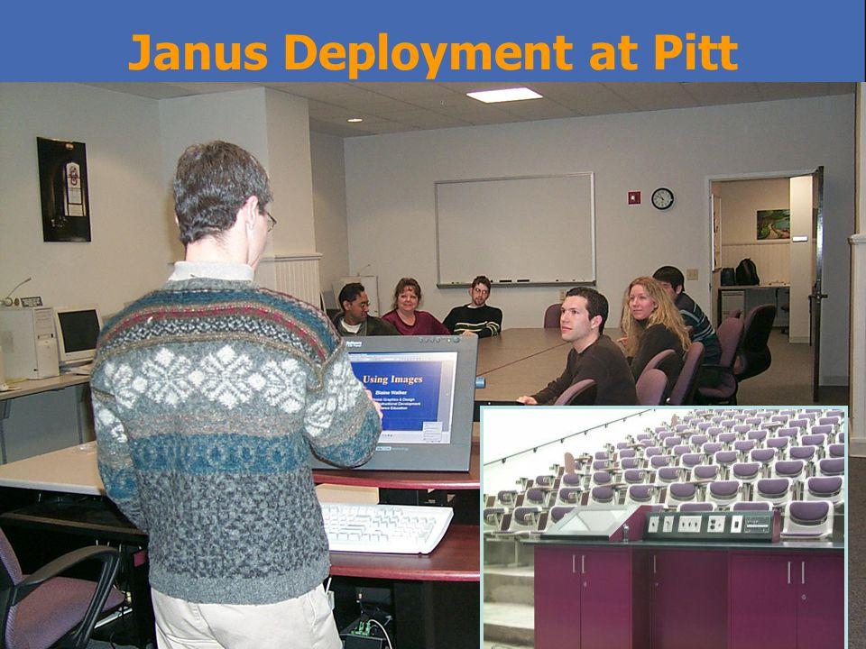 Janus Deployment at Pitt