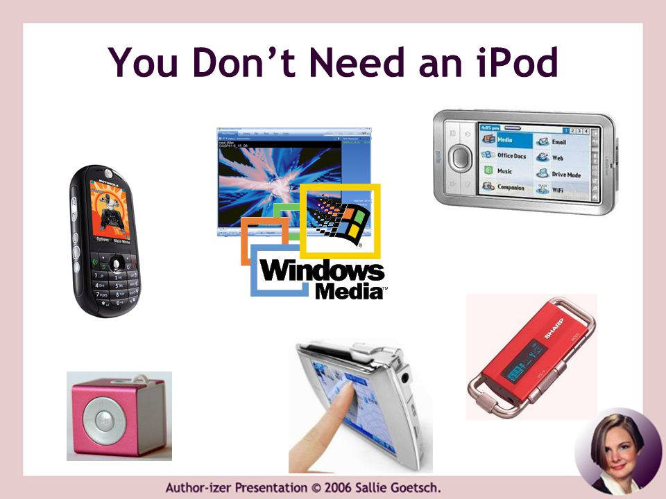 You Don't Need an iPod