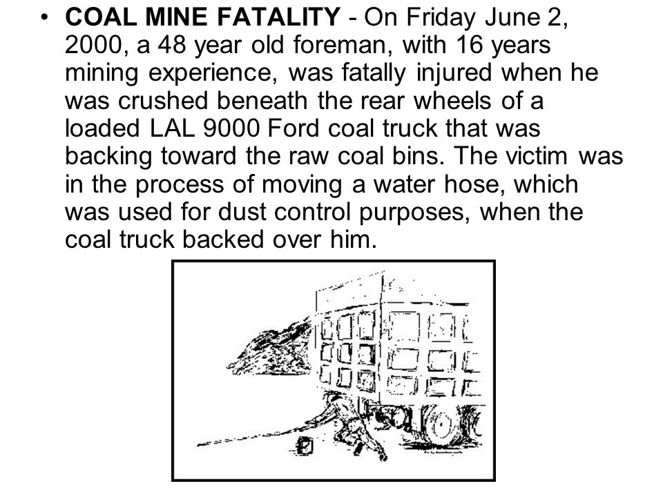 METAL/NONMETAL MINE FATALITY - On June 6, 2000, a 43-year-old boiler maker (contractor employee) with 20 years construction experience was fatally injured at a cement operation.