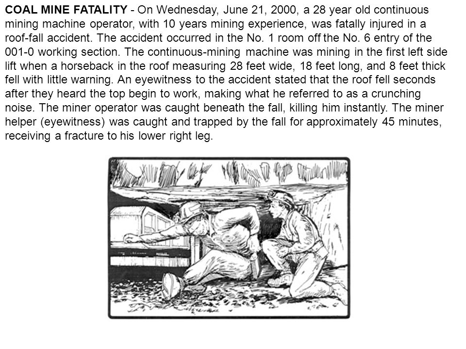 METAL/NONMETAL MINE FATALITY - On June 11, 2000, a 32-year-old saw operator with 14 years mining experience was fatally injured at a dimension stone operation.