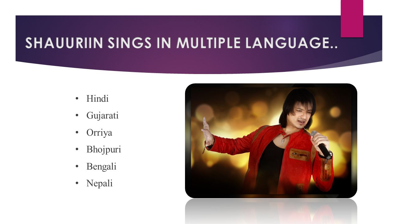 Hindi Gujarati Orriya Bhojpuri Bengali Nepali